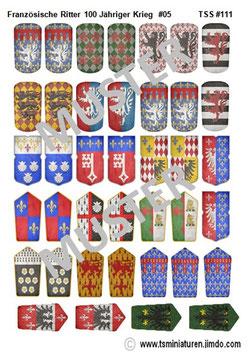 1:72 Französische Ritter #05    TSS 111