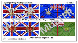 28mm 7 Jähriger Krieg #21 England