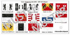 1:72 Mittelalter Swiss Burgundian War #01 Schweizer Ritter