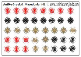 1:72 Wasserschieber #03 Antike Mazedonia