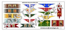 1:72 Mittelalter Russische Banner #01
