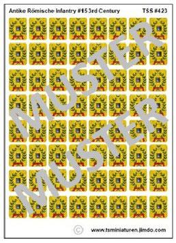 1:72 Schilde Römische Infanterie #15
