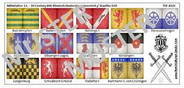 1:72 Mittelalter 13. Jahrhundert #06 Heil.Röm. Kaiserreich