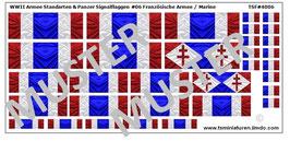 1:72 WWII Fahnen & Standarten #06 Frankreich