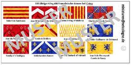 1:72 Mittelalter 100 Jähriger Krieg #06 Crécy Französische Ritter
