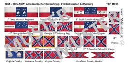 1:72 ACW #14 Südstaaten Gettysburg