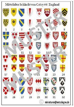 1:72 Mittelalter Englische Ritter für Crecy #04