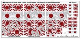 1:72 WWII Fahnen & Standarten #03 Kaiserreich Japan