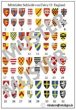 1:72 Mittelalter Englische Ritter für Crecy #03