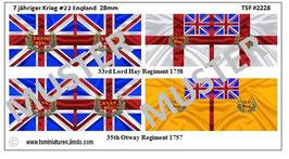 28mm 7 Jähriger Krieg #22 England