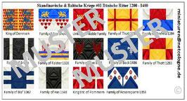 1:72 Mittelalter Skandinavische Ritter #01