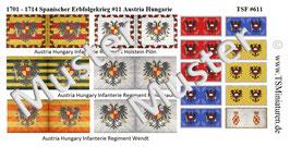 1:72 Spanischer Erbfolgekrieg #11 Österreich & Ungarn Infanterie & Kavallerie