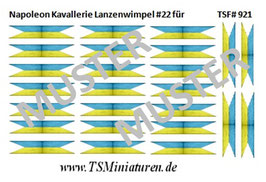 1:72 Napoleon Lanzenwimpel #22