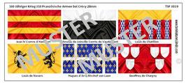 28mm Mittelalter Die Schlacht von Crécy #10 Frankreich