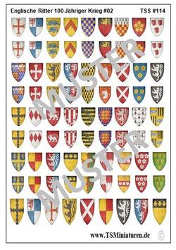 1:72 Englische Ritter #02     TSS 114