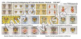 1:72 Spanischer Erbfolgekrieg #07 Schwaben  / Baaden / Durlach Infanterie
