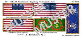 28mm American Civil War #01 Nordstaaten