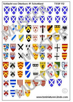 1:72 Die Schlacht von Otterburn #01 Schottland