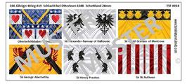 28mm Mittelalter Die Schlacht von Otterburn #04