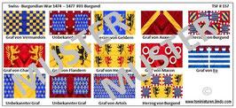 1:72 Mittelalter Swiss Burgundian War #03 Burgunder Ritter