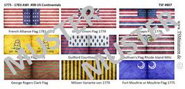 1:72 AWI Amerikanischer Unabhängigkeitskrieg #08 US Continentals