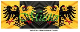 1:24 / 7cm Fahne für Landsknechte #06