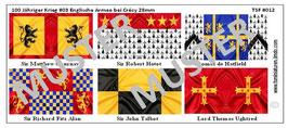 28mm Mittelalter Die Schlacht von Crécy #03 England