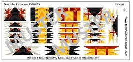1:72 Mittelalter Deutsche Ritter #03