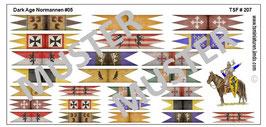 1:72 Dark Age Fahnen Normann Banners #05