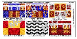 28mm Die Schlacht von Agnicourt #01 England