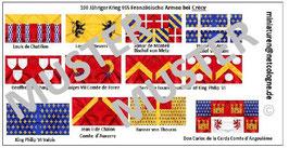 1:72 Mittelalter 100 Jähriger Krieg #05 Crécy Französische Ritter