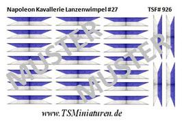 1:72 Napoleon Lanzenwimpel #27