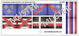 1:72 Landsknechte Frankreich #11 (gealtert)