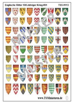 1:72 Englische Ritter #01     TSS 113