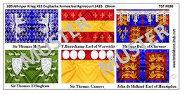 28mm Die Schlacht von Agnicourt #03 England