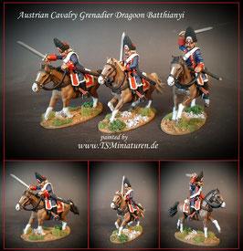 1:32 / 54mm Austrian Grenadiers Dragoon Batthianyi Reg.