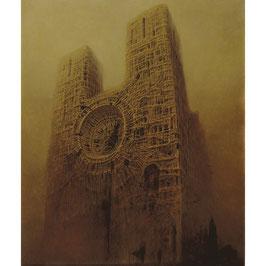 Notre-Dame by Master Beksinski