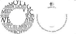 Psalm 27,1  (PD31)