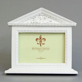 写真立て 神殿型 宮殿型 パンテオン宮殿 おしゃれ 白い フォトフレーム インテリ雑貨 ギリシャ神殿 1383137