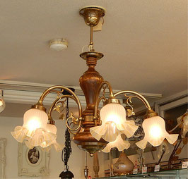 シャンデリア 照明 おしゃれ イタリア製 カパーニ 古木 ランプ 照明器具 5灯式 クラシック エレガント ゴージャス CAPANNI 701092