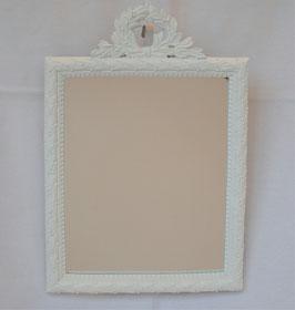 ミラー 壁掛け鏡 スタンドミラー おしゃれ 長方形 ウォールミラー 白 ホワイト 1383154 WH