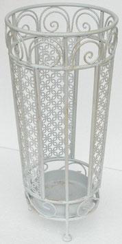 傘立て ホワイト アイアン 雑貨 インテリア雑貨 アンブレラスタンド 1351025