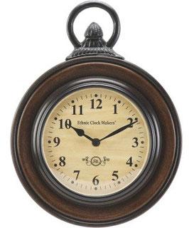 時計 壁掛け時計 掛時計 オシャレ おしゃれ ウォールクロック ウォール クロック 丸 Ethnic clock Makerts 306008