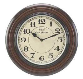 時計 壁掛け時計 掛時計 オシャレ おしゃれ ウォールクロック ウォール クロック 丸 Ethnic clock Makerts 306013