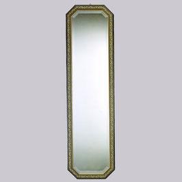 ウォールミラー おしゃれ 鏡 壁掛け 八角形 木製 青 ミラー OT アンティーク イタリア製 ベルトーチ BERTOZZI 808407