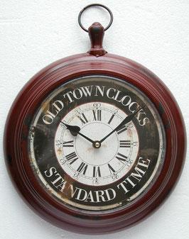 掛時計 ウォールクロック 75001WC レッド
