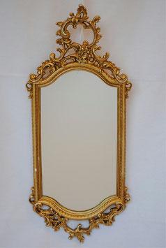ミラー 壁掛け鏡 おしゃれ 長楕円形 ウォールミラー 金 ゴールド クラシック アンティーク 883014 GD