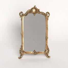 スタンドミラー おしゃれ 真鍮製 卓上鏡 アンティーク ミラー 雑貨 アンティーク インテリア雑貨 ヨーロピアン雑貨 オシャレ雑貨 おしゃれ雑貨 805000