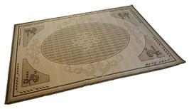 カーペット ラグ ALIXE LIN おしゃれ 洗える 140×200 長方形 スタイルフランス フランス製 コットン 綿 マット SERGE LESAGE ALIXE LIN 玄関マット 綿100%