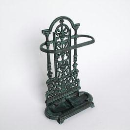 傘立て クラシック アンティーク オシャレ グリーン 緑 アンブレラスタンド 鋳物鉄 鉄 鋳物 アイアン 7383000